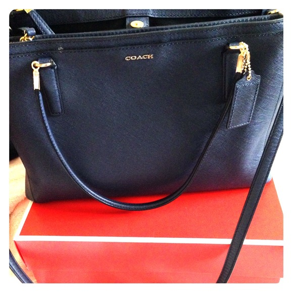 45dccbf40065 Coach Handbags - Coach Christie handbag in Navy