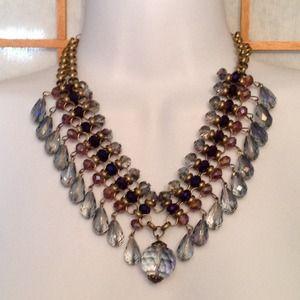 Jewelry - 🎄New Beautiful Statement Necklace & Earring Set.