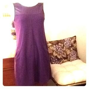 Deep purple dress