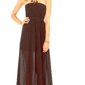 Lulu'a black maxi dress