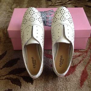 Crown Vintage Slip On Oxford Shoes