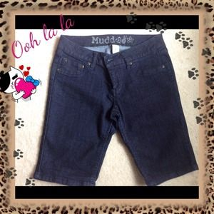👖Junior Mudd crop denim size 7 👖