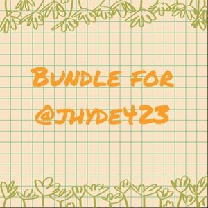 BUNDLE for @jhyde423