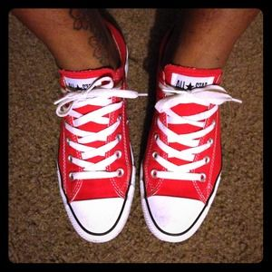 Converse Shoes - Red Converses