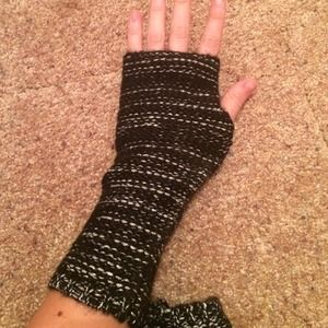 Accessories - Grey and Black Hand Warmers