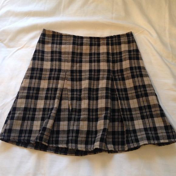 df2523272a Brandy Melville Skirts | Kaitlee Plaid Skirt | Poshmark