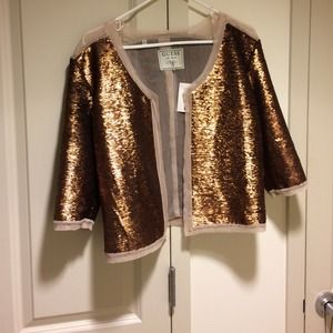 🌟HP 🌟 Guess Bronze Sequin Blazer