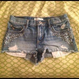 a&f kids - High Rise Shorts