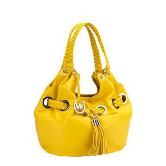 740b9c94a2469e Michael Kors Bags | Authentic Braided Grommet | Poshmark