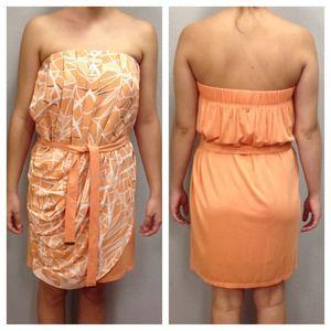 ADDISON ANTHROPOLOGIE Strapless Dress