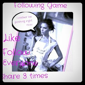 Hey guys new following game!!!!