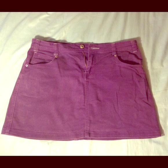 51a985d986 arizona jeans co. Jeans | Purple Jean Skirt | Poshmark