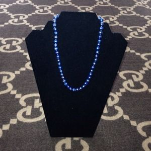 Genuine Blue Pearl Necklace!