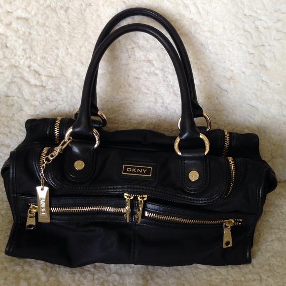 89 off dkny handbags dkny new york black nylon with