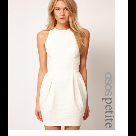 04f8d606afbe ASOS Dresses & Skirts - Asos white tulip dress