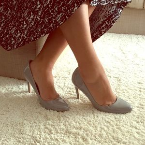 ZARA basic pump in Grey