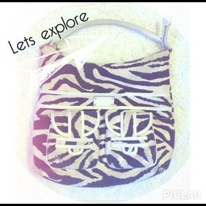 kate spade Handbags - Kate Spade zebra purse