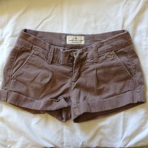 A&F Brown Shorts