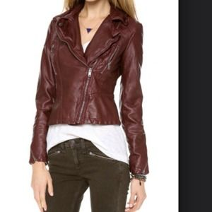 HOST PICK Free People distressed moto jacket
