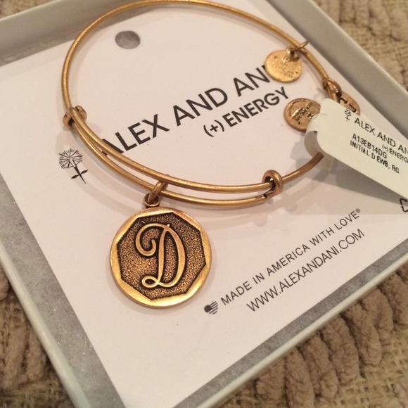 letter a alex and ani 46 alex amp ani jewelry alex and ani letter quot d 20896 | m 53e029179b7be90522004ee8