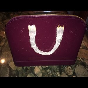 Handbags - XL plum color bag