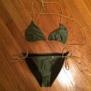insight Other - Insight green sexy string bikini triangle top
