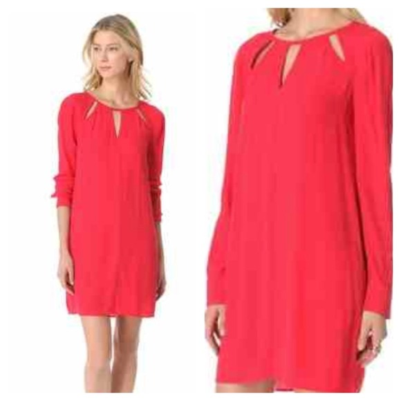 Bcbg red dress images