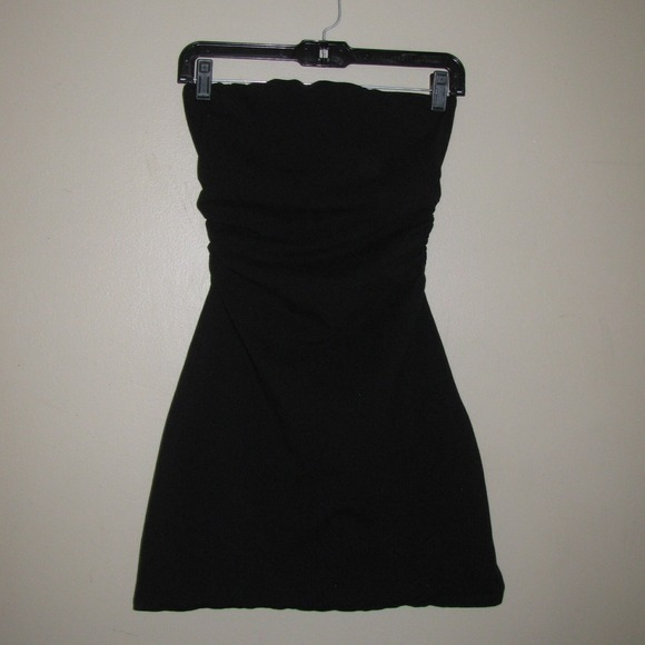f1ef0b7617d Black Strapless Bra Top Tube Dress. M 53e112f0ba534010c7283ffb