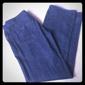 Express Stella boot cut denim jeans