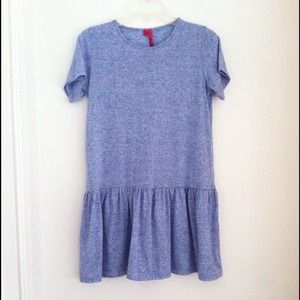 Boohoo Smock Dress - Blue