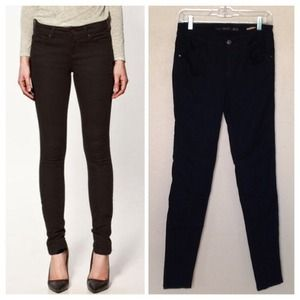 Zara Denim - New Black Skinny Jeans size 40/8