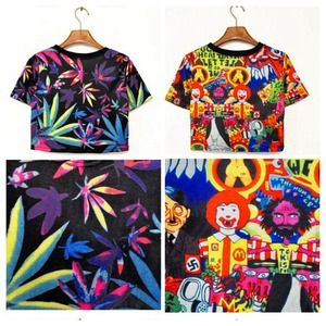 Cropped tops!!! *BRAND NEW*