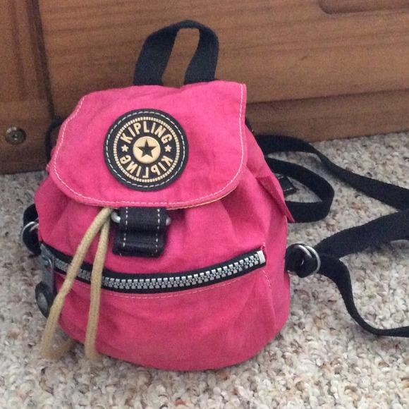 b186e66fce Kipling Handbags - RETRO Mini Kipling Backpack