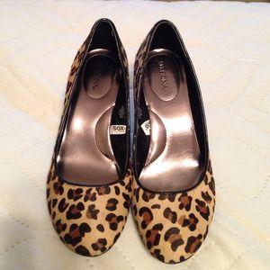 Merona Shoes - NWOT Merona (target) cheetah print heels