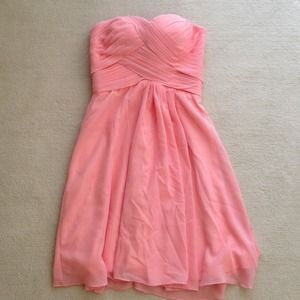 Peach Dress (bridesmaid)