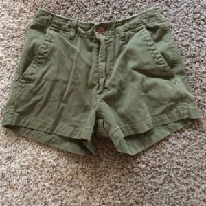 RARE Lucky Brand High-Wasted Shorts