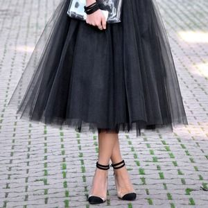 Dresses & Skirts - New Gorgeous Black Tulle Skirt❤️