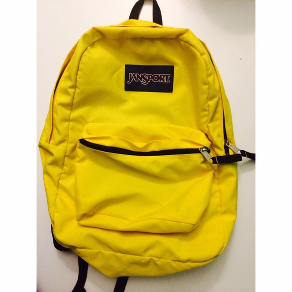 durable service attractive fashion on sale Yellow Jansport Backpack | Click Backpacks