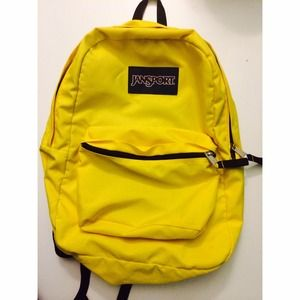 Yellow Jansport Backpack - Backpack Her