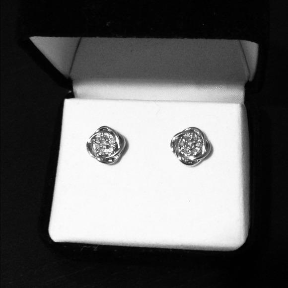 off Kay Jewelers Jewelry Kay Jewelers Silver Rose Flower