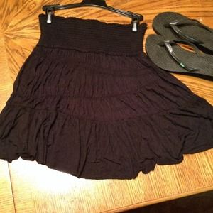 Free people black skirt