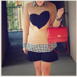 J. Crew Tops - Jcrew heart sweater