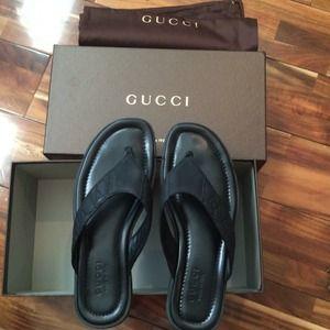 1b4fe4d7e53ea Gucci Shoes - SOLD on eBay. Men s Gucci Flip Flop Shoes Sandals