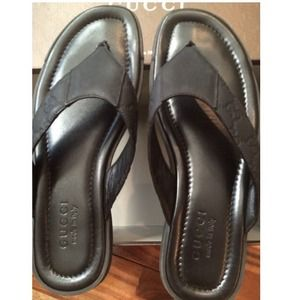 824769e03b2 Gucci Shoes - SOLD on eBay. Men s Gucci Flip Flop Shoes Sandals