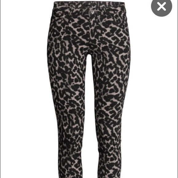 Slim Homme H&m H&m Leopard Skinny Twill Pants