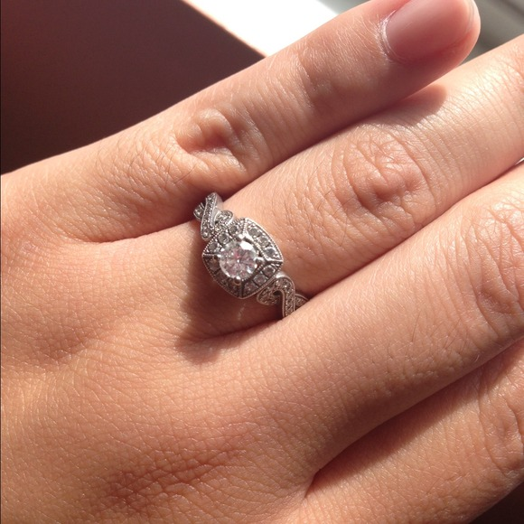 Fred Meyer Jewelers Jewelry Engagement Ring 4k White Gold And Diamonds Poshmark
