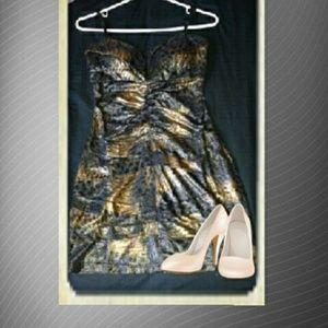 Bodycon Animal print dress