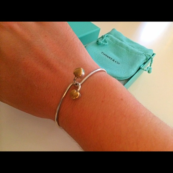 Tiffany & Co. Jewelry - Tiffany & Co. Sterling Silver/ 18k Gold Bangle