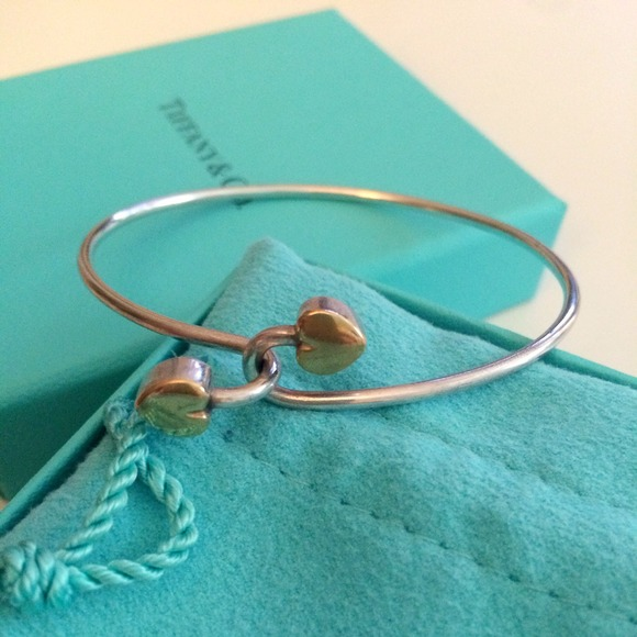 Tiffany & Co. Jewelry - Tiffany & Co. Sterling Silver/ 18k Gold Bangle 4