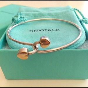 Tiffany & Co. Jewelry - Tiffany & Co. Sterling Silver/ 18k Gold Bangle 1